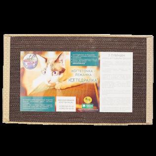 КОГТЕДРАЛКА / Когтеточка, картонная большая, для кошек 56*30см