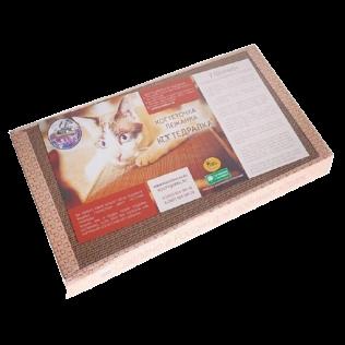 КОГТЕДРАЛКА / Когтеточка, картонная большая, для кошек 50*24см