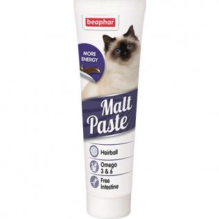 БЕАФАР Мальт паста для вывода шерсти из кишечника для кошек 100г (Beaphar Malt Paste)