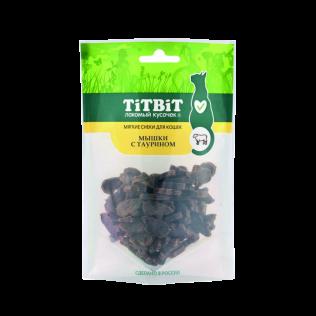 """TiTBit """"Титбит"""" Мышки с таурином для кошек (Мягкие снеки) 50 г"""