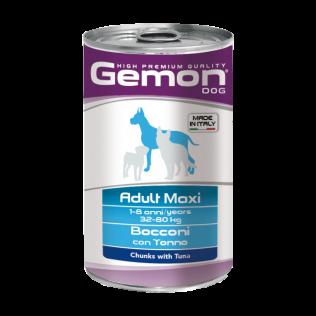 Gemon Maxi Adult 1250gr. Гемон консервы для собак крупных пород, с тунцом