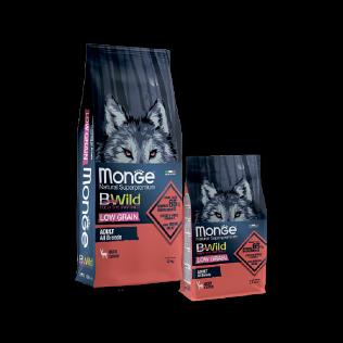 Monge B-Wild Deer. Монже Би Вайлд Корм с мясом оленя для взрослых собак всех пород, 2.5кг.