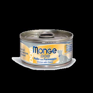 Monge Chicken with Cheese Adult. Монже для взрослых собак с курицей и сыром.