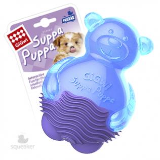 """GiGwi Dog Toys. ГиГви игрушка для собак """"Мишка с пищалкой"""" Арт.75424"""