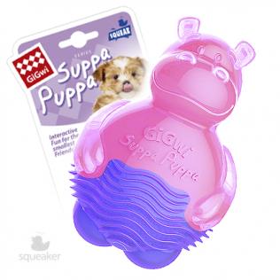 """GiGwi Dog Toys. Гигви игрушка для собак """"Бегемотик с пищалкой"""" Арт.75425"""