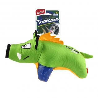 "GiGwi Dog Toys. ГиГви игрушка для собак ""Кабан с пищалкой"" Арт.75502"