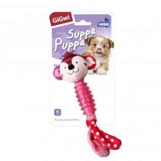 "GiGwi Dog Toys. ГиГви игрушка для собак ""Обезьяна с пищалкой"" Арт.75530"