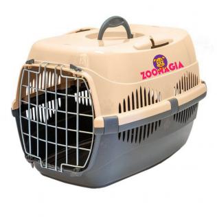 Переноска для животных Спутник -1  с металлической дверью. Авиабокс  для кошек и маленьких собак до 9 кг. Размеры 29*43*27,5см.