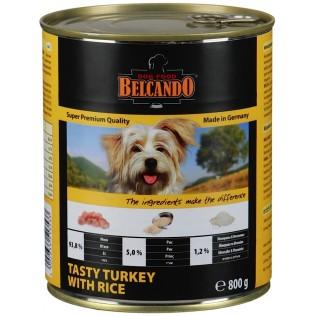 Belcando turkey & rice. Белькандо консервы для собак с индейкой и рисом, 800гр.