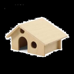"""""""Дарэлл"""" Домик для грызунов деревянный 17*13*9,5см Арт.8551"""