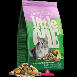 Green Valley from Little One Complete Feed Chinchillas. Полнорационный корм Литтл Ван «Зеленая долина»  из разнотравья для шиншилл. 750 гр.