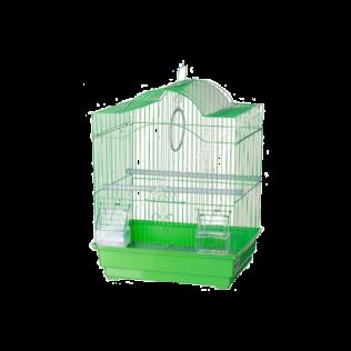 Клетка крашенная для птиц 34,5*28*46см