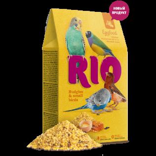RIO EGGFOOD 250 гр. Яичный корм для волнистых попугаев и мелких птиц.