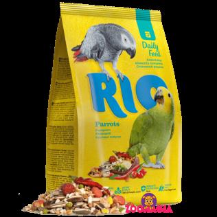 Rio Daily Feed Parrots. Рио основной рацион для крупных попугаев.  1000гр