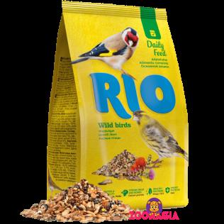 Rio Daily Feed Wild bitrds. Рио основной рацион для лесных птиц. 500гр.