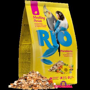 Rio Moulting Period Parakeets. Рио основной рацион в период линьки для средних попугаев. 1000гр.