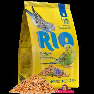Rio Daily Feed Budgies. Рио основной рацион для волнистых попугаев. 1000гр.