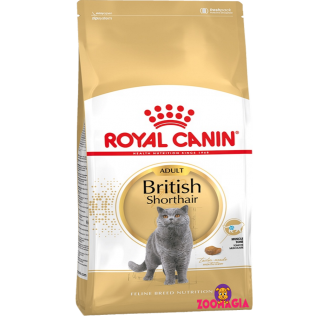 Royal Canin British Shorthair. Сухой полнорационный корм Роял Канин для кошек британской породы . Корм для взрослых  британских кошек.  10 кг