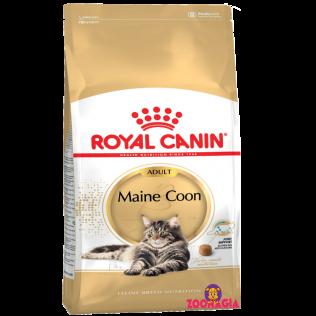 Royal Canin Maine Coon 31. Полнорационный сухой корм Роял Канин для взрослых кошек породы Мейн-кун.  4 кг