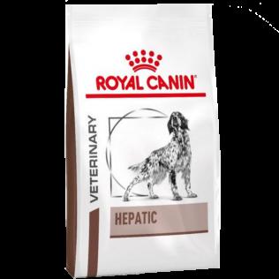 Royal Canin Veterinary Diet  Hepatic Canine Dog. Ветеринарная диета Роял Канин Гепатик. Сухой корм для собак страдающих хроническим гепатитом. 1,5 кг.