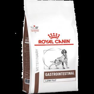 Royal Canin Veterinary Diet  Gastro Intestinal Low Fat Dog. Ветеринарная диета Роял Канин .  Сухой корм для собак страдающих острыми панкреатитами. 1,5 кг.
