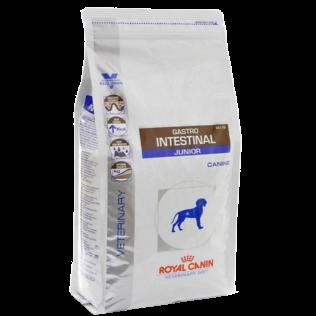 Royal Canin Veterinary Diet  Gastro Intestinal Dog Junior. Ветеринарная диета  для щенков Гастроинтестинал .  Корм для щенков с проблемным пищеварением. 2,5 кг.