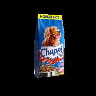 Chappi сытный мясной обед с говядиной по-домашнему